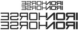 Iron Horse Bicycle Frame Decal Sticker Set MTB/Road Bike - I