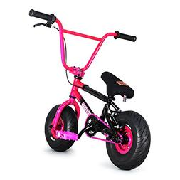 FatBoy Mini BMX Bicycle Freestyle Bike Fat Tires, 2 Tone, Pi