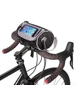 Boxiki travel Bicycle Handlebar Bag for Road Bikes, Mountain