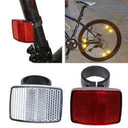 Bicycle Handlebar Reflector Bike Reflective Front Rear Warni