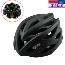Bicycle Helmet with Rear Light Mountain Bicycle Adult Cyclin