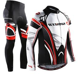 sponeed Bike Pants and Jersey Long Gear Spring Clothes Men B