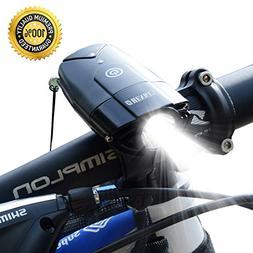 Bicycle Light   2000mAh/1000 Lumen LED Bike Headlight USB Re