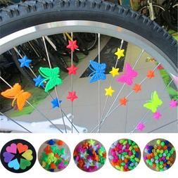 Bicycle Multi-color Wheel Cycling Spoke Beads Bead Decoratio