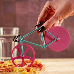 Bicycle Pizza Cutter Wheele Dual Stainless Steel Bike Wheels