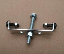 bicycle rear carrier rack bracket frame adapter with screws