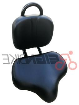 Beach Cruiser Chopper MBI Bike comfort Saddle Black seat