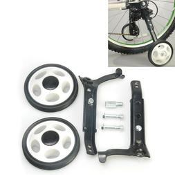 Training wheel bicycle stabilizer for 16-24 inch tricycle ea