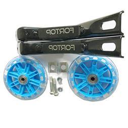 FORTOP Bicycle Training Wheels Heavy Duty Rear with Stabiliz