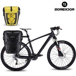 RockBros Bicycle Waterproof Pannier Cycling Travel Rear Seat