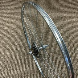BICYCLE WHEEL FIT SCHWINN HUFFY SEARS OTHERS 27 X 1 - 1/4