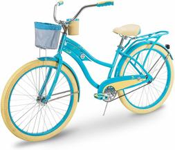 Huffy Bicycle Women's Cruiser 26-inch Single Speed Steel Bik