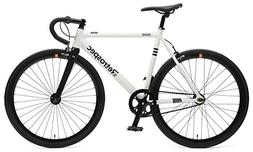 Retrospec Bicycles Drome Fixed-Gear Track Bike with Carbon F