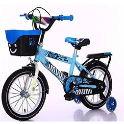 Children's Bicycles Training Wheels Basket Bell Kickstand Ki