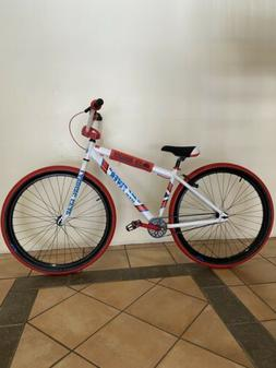 SE Bikes Big Flyer White And Red Brand New In Box Ships ASAP