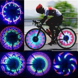 Bike 32-pattern Cycling Bicycle Lamp LED Spoke Wheel Lights
