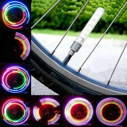 Bike Accessories Cycling Wheel Spoke Light  Tire Tyre Valve
