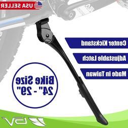 BV Alloy Bike Kickstand Center Mount Adjustable Spring-Loade