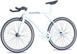 bike aluminum road bicycle single speed fixed