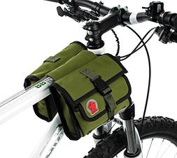 ArcEnCiel Bike Bag Front Bicycle Handlebar Bag Pannier Baske