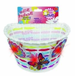 Bike Basket - Kids Bicycle Basket with Three Motion Activate