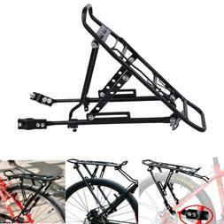 Bike Bicycle Back Rear Bag Pannier Rack Alloy Seat Post Fram