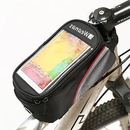 Weanas® Bike Bicycle Handlebar Frame Pannier Front Top Tube