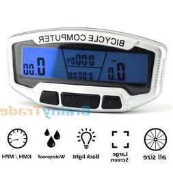 AGPtek LCD Bike Bicycle Multifunctional Digital Odometer Spe