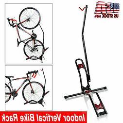 Bike Bicycle Vertical Floor Parking Stand Rack Mount Garage