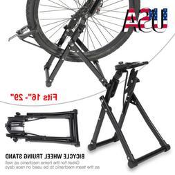 Bike Bicycle Wheel Maintenance Home Mechanic Truing Stand Re