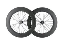 Sunrise Bike Carbon Single Speed Bike Wheelset Clincher 88mm