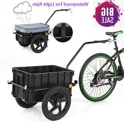 Bike Cargo Trailer Hand Wagon Bicycle Luggage Storage Traile
