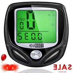 Bike Computer Speedometer Wireless Waterproof Bicycle Odomet