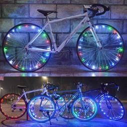 Bike Cool Lights Wheel Tire Valve's Bike Accessories 20 LED