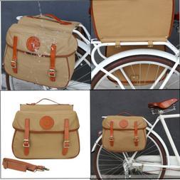 Tourbon Bike Double Pannier Cycling Rear Rack Bag Trunk Trav