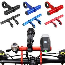 MTB Bike Flashlight Holder Handlebar Bicycle Accessories Ext