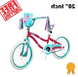 Bike for Girls 20 Inch Wheels With Carry Bag Bicycle Outdoor