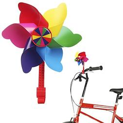 Bike Handlebar Pinwheel for Kids, Mini-Factory Bike Accessor