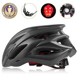 Shinmax Bike Helmet, CPSC Certified Adjustable Lighted Bike