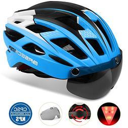 Basecamp Bike Helmet, Light Weight Bicycle Helmet CPSC Stand