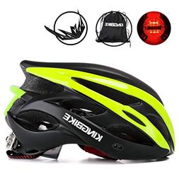 KINGBIKE Adult Bike Helmet Ultralight with Bicycle Helmets B