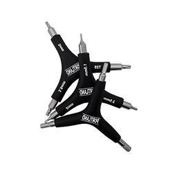 Portland Tool Company 3-Way Bike Hex Wrench Set by 3-in-1 Ha