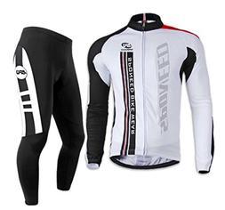 Sponeed Men's Bike Jersey Long Sleeve Cycling Apparel Jacket