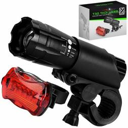 Bicycle Bike Light Front and Rear Cycling LED HeadLight and