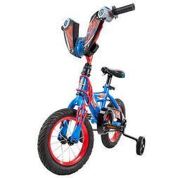 Bike Marvel Spider-Man 12 Boys Easy Assembly Training Wheels