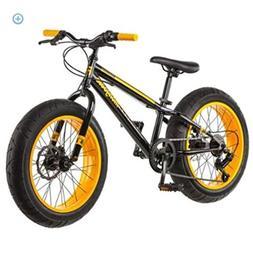 "Mongoose Boys Bike Mountain Fat Tire Bicycle  20"" Disc Brake"