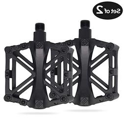Vizbrite Bike Pedal, 9/16 Inch Bicycle Pedal for Mountain Cy