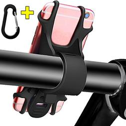 Bike Phone Mount, Cell Phone Holder for Bicycle Motorcycle U
