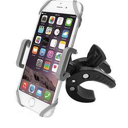 Bike Phone Mount Motorcycle Bicycle Holder, 360 Degree Rotat