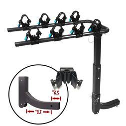 Bike Rack 4 Arm Hitch Mount Rear Bicycle Carrier Truck Carri